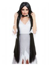 Extra Long Witch Wig in Black